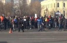 protest Guvern Piața Victoriei