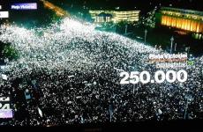 lumini protest