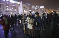 Inquam proteste guvern Piata Victoriei
