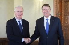 Klaus Iohannis și Michel Barnier