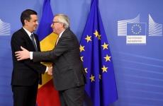 Sorin Grindeanu Jean-Claude Juncker