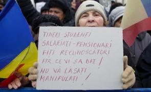 Inquam proteste Cotroceni