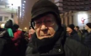 Mihai Șora proteste