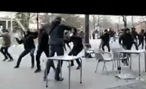 incidente Alaves Barcelona suporteri