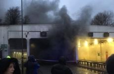 manchester aeroport incendiu