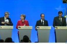 Hollande Merkel Gentiloni Rajoy