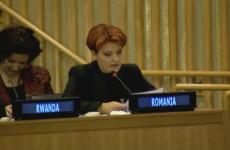 Olguța Vasilescu la ONU