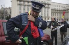 miting politie