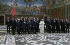 iohannis la vatican poza grup