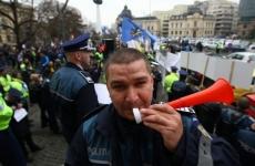 protest polițiști