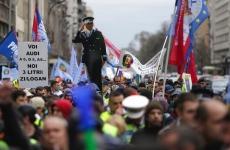 protest polițiști martie