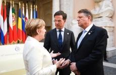 Iohannis Merkel Roma