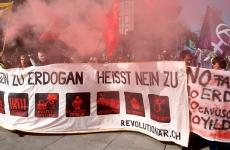 elvetia, protest anti erdogan