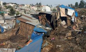 alunecare teren etiopia