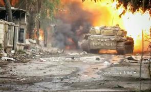 tanc siria lupte