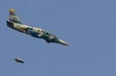 avion sirian combat
