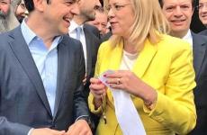 Corina Cretu Alexis Tsipras