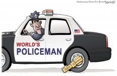 USA politist mondial