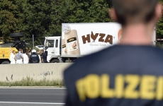 camion refugiati morti