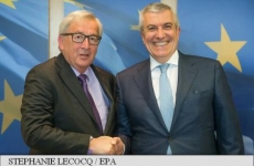 Juncker si Tariceanu