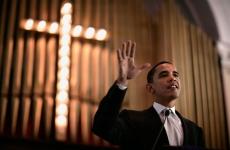 Obama in biserica