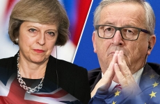 Jean-Claude Juncker si Theresa May