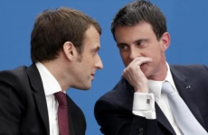 Valls si Macron