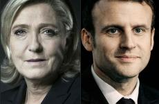 Marine Le Pen si Emmanuel Macron