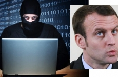Macron, hackeri