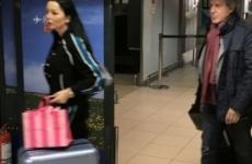 Ilie Năstase Brigitte aeroport