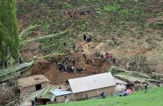 alunecare de teren Kârgâzstan