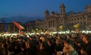 CEU Budapesta proteste