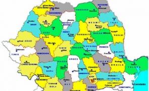România hartă județe