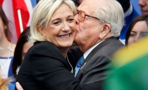 Marine Le Pen si Jean-Marie Le Pen