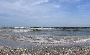 litoral, mare, valuri