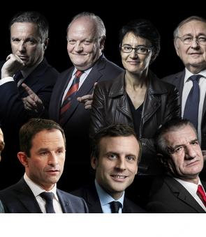 candidati alegeri prezidentiale franta