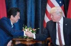 trump si Shinzo Abe