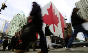 Canada, vize, drapel