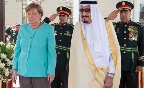 Angela Merkel Arabia Saudită