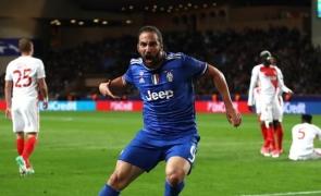 Higuain Juventus Monaco
