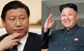 china vs N korea
