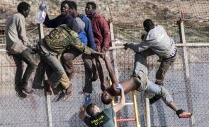 Melilla, migranti