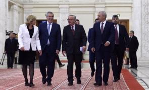 Liviu Dragnea Jean Claude Juncker