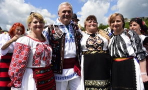 dragnea costum popular
