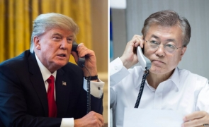 Moon Jae In si Trump
