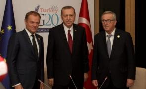 Juncker,Donald Tusk, erdogan