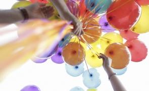 Inquam Marșul Diversității baloane