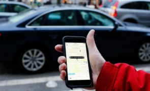 taxi uber aplicatie