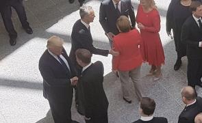 Donald Trump Klaus Iohannis