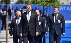 Klaus Iohannis summit NATO